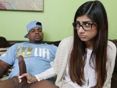 MIA KHALIFA - She's Never Tried Big Black Dick Before, So She Asks Rico Strong