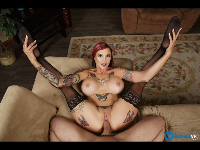 Badoinkvr.com Inked Punk Milf Anna Bell Peaks Takes Your Cock As Her Toy - Free Porn Videos - Cliporno