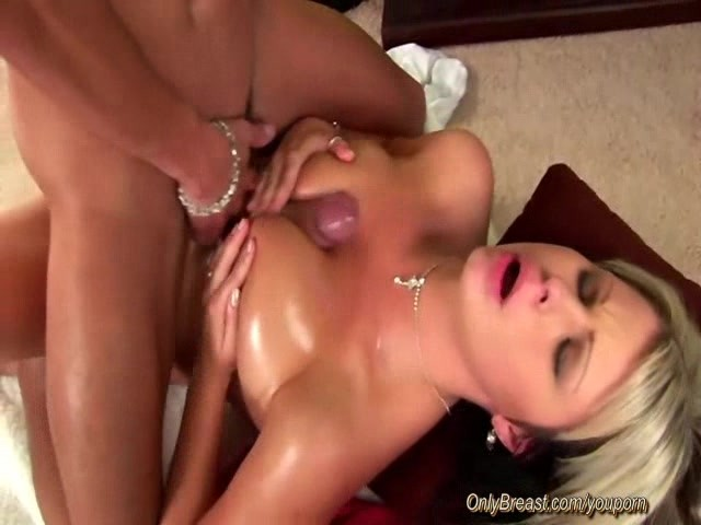 Adultmemberzone busty lady gets a big load on her melons 9