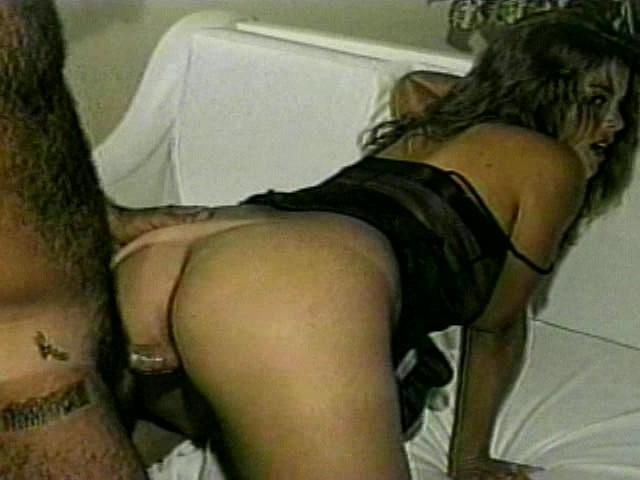 Anally toyed ho fingers pussy