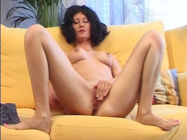 Mexican girl spreads legs