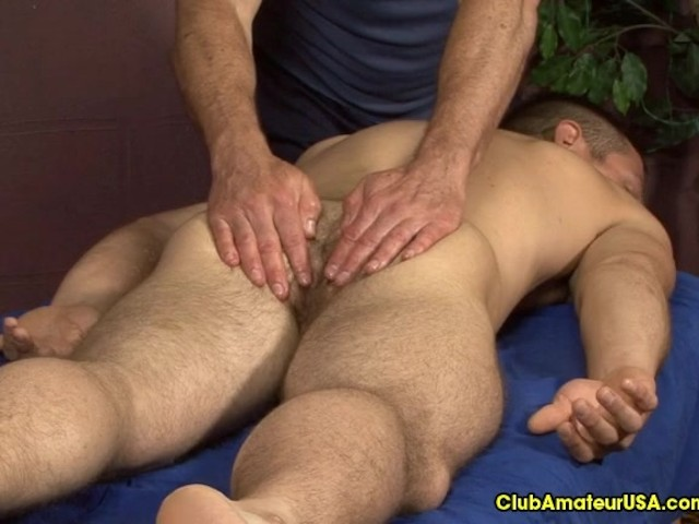 Straight guys getting anal fingered