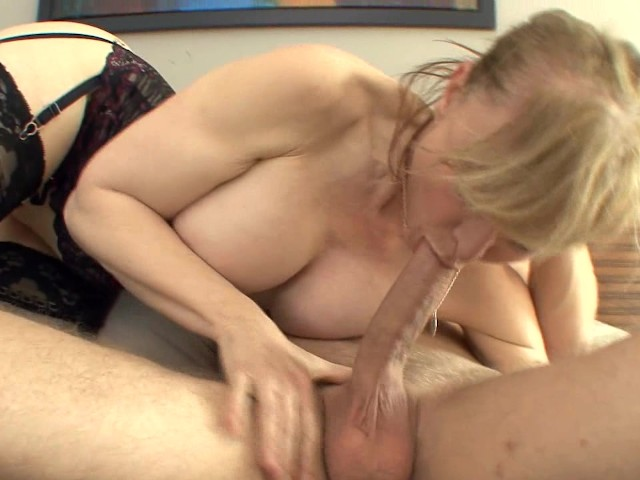 3some stepmom seduces son and girlfriend 9