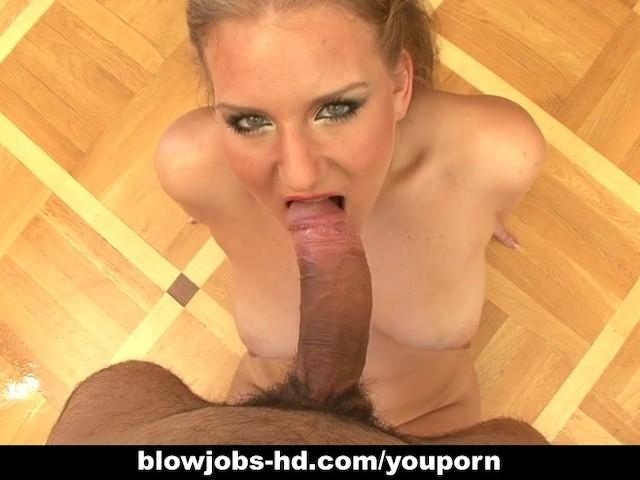Billie rai lipstick sloppy blowjob 9