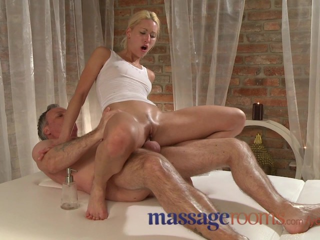 Massage rooms petite tanned russian has her tiny hole filled with cock 5