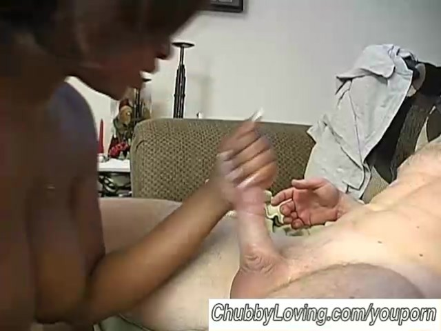 Chubby Black Girl Sucking and Fucking a White Guy Porn ad