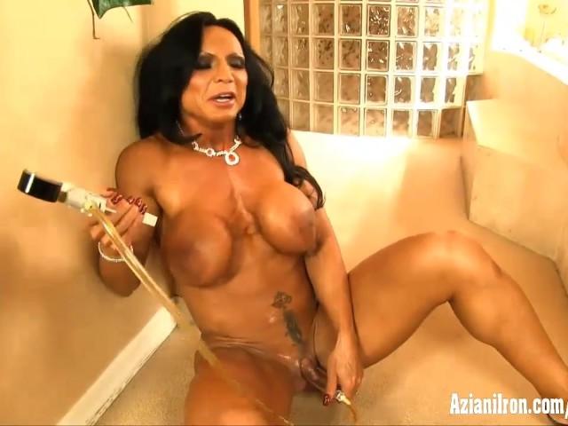 Aziani Iron Anal Sex - Aziani Iron Rhonda Lee Pumping Her Big Clit - Free Porn Videos - YouPorn