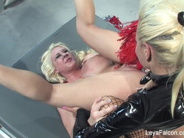 Leya falcon gets dominated and roughed up by nikita 4
