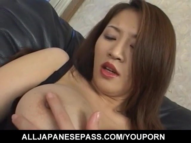 Yuki touma fondles her hot cans - 2 part 6