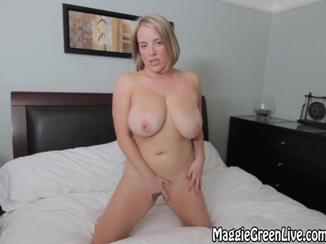 All natural maggie green sucks cock in the locker room 6