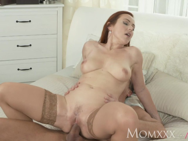 Mom Naughty Redhead Milf In Stockings Has The Fuck Of Her -4268