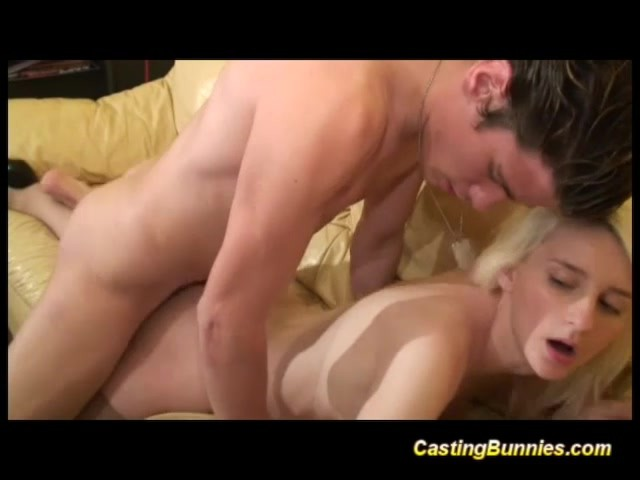 Teen Gets First Big Cock