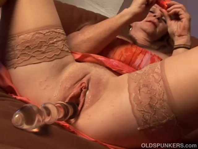 Naughty old spunker wishes you were fucking her juicy pussy