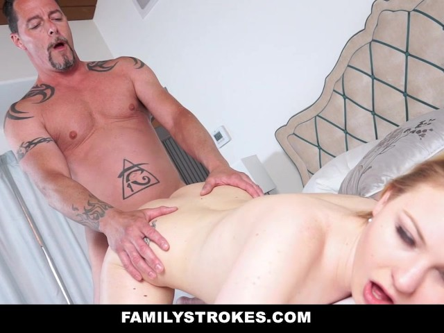 Familstrokes learning about sex from stepdad 5