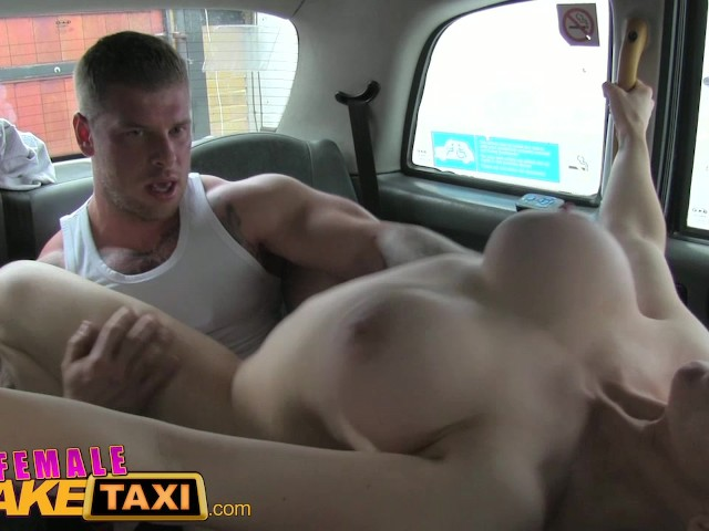 image Fake taxi mature busty milf licks arse and empties big balls