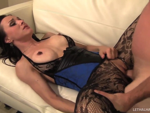 Mature females in stockings