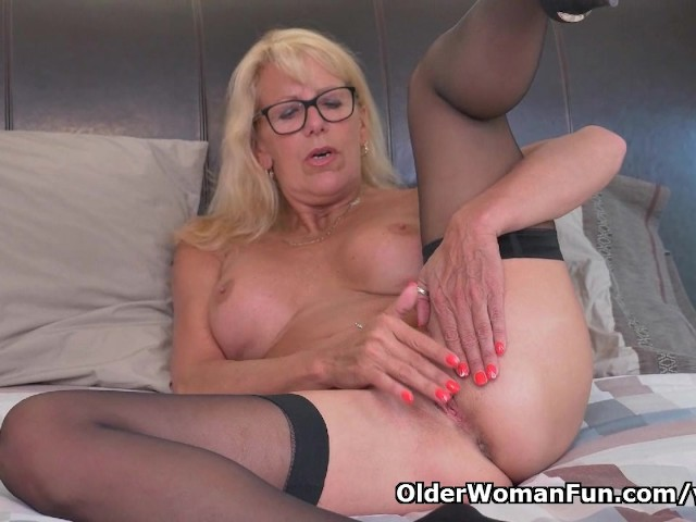 Blonde Milf Bianca Finger Fucks Her Mature Pussy - Free -3734