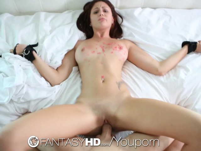 Fantasyhd - Tied Down And Submissive Ariana Marie Gets -1736