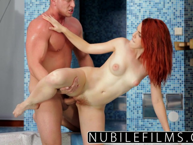 Nubilefilms amarna millers intense hot tub fuck
