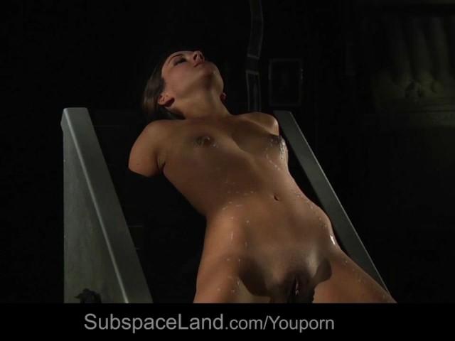 Bound hot slave in pain for bdsm fetish fuck #1142118