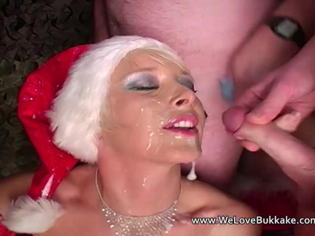 Christmas Amateur Cumshot Facial Party - Free Porn Videos -3299
