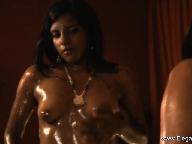 zwarte Aziatische lesbische Porn