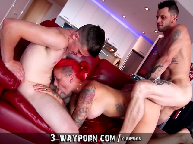 nasty threesome porn