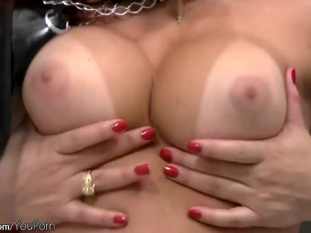 Red Hair Shemale Squeezes Round Breasts And Strokes Shecock Free Porn Videos Youporn