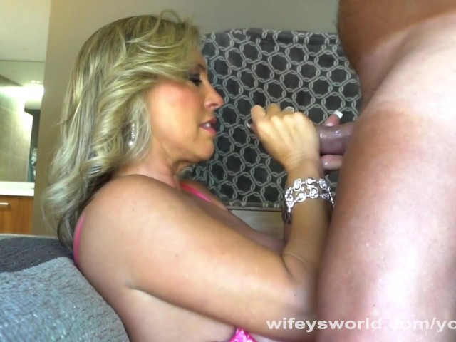 image Wifey drilled and cum filled before halloween party