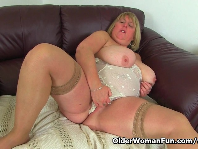 British Bbw Milf Melons Marie Is Built For Pleasure - Free -3642