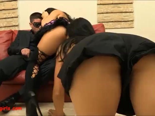 2 Hot Asians 1 Whate Cock Broken Asshole