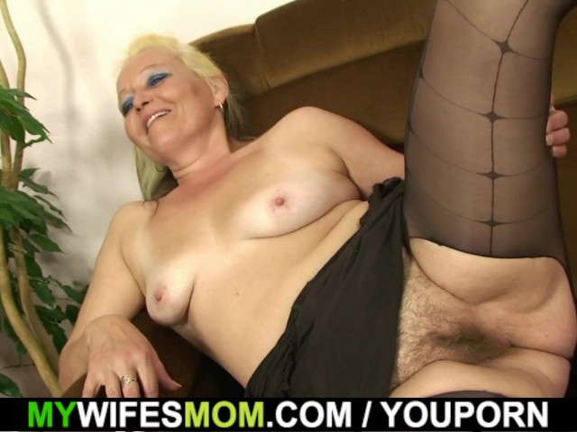 Hairy Pussy Mother Inlaw Gets Naked Then Rides Cock - Free -5704