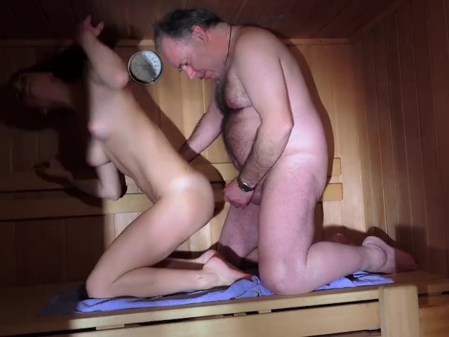 Cum dripping pussy dad swallows