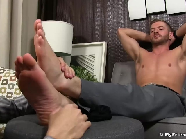 how to get footjobs as a man