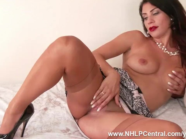 Brunette Roxy Mendez Shows Off Sexy Lingerie and Juicy Big Tits As She  Spreads Those Shapely Vintage Nylon Clad Legs to Toy Pussy - Free Porn  Videos - ...