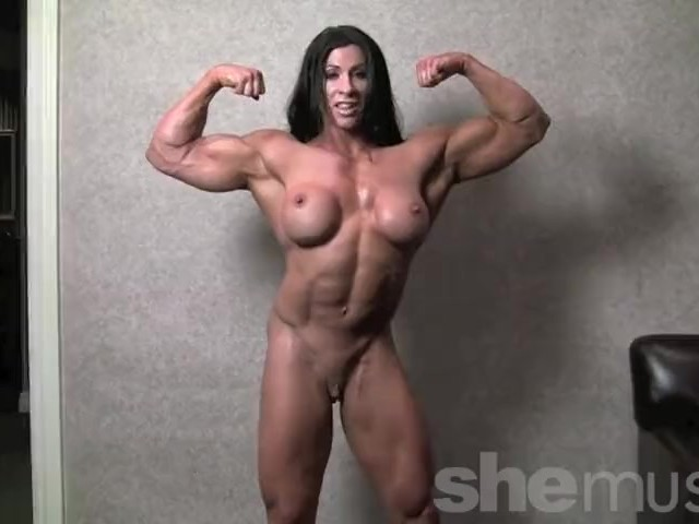 Nude Woman Bodybuilder Angela Salvagno Naked - Free Porn -3294