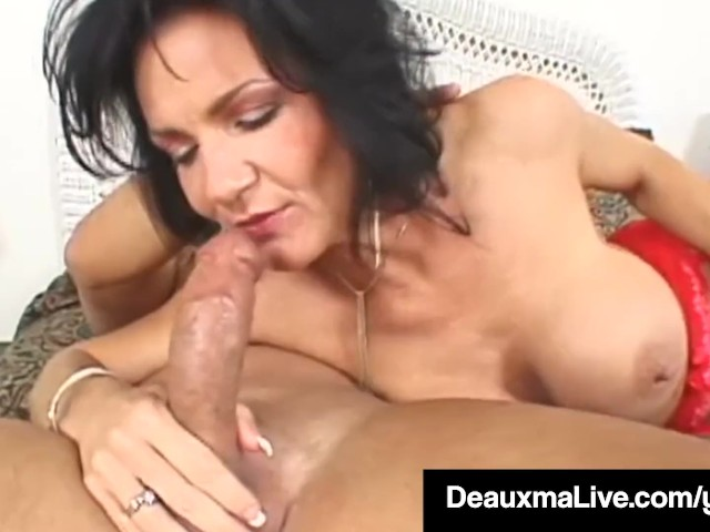 image Horny housewife deauxma takes a cock in her juicy asshole