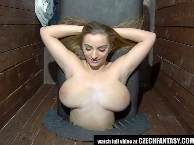 This girl holes in the boob god she