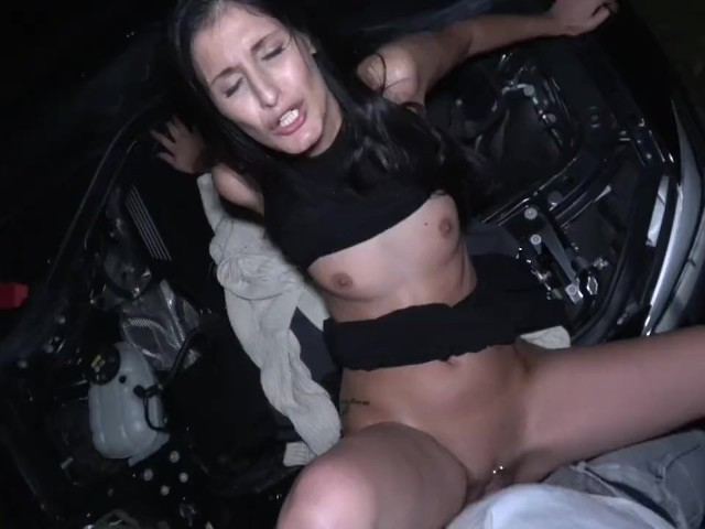 Public Agent Coco Kiss Fix My Car and Fuck My Pussy #1155775