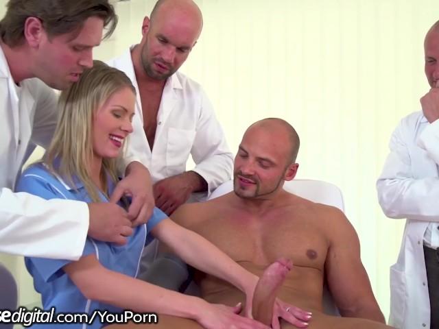 3 Doctors, 1 Patient  A Young Nurse Gangbang - Watch Porn -2350