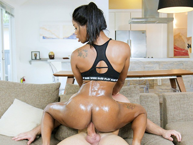 TeamSkeet - Sexy Ebony Babe Fucked By Huge Cock #1155147