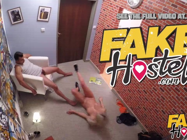 Fake hostel pert free love hippie chick fucked like crazy 9