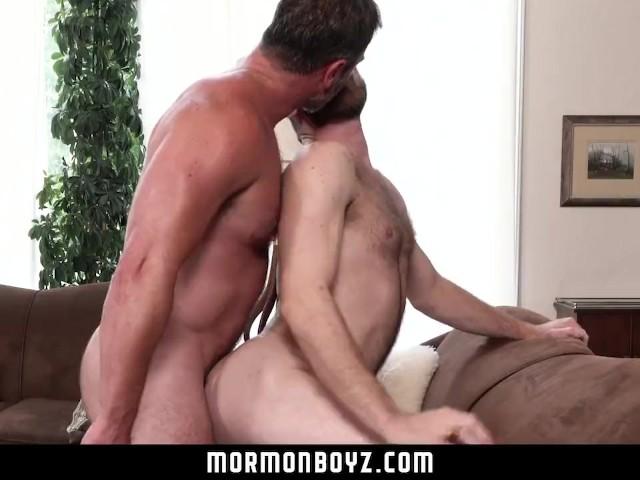 Mormonboyz sexy daddy priest punish fucks his subordinate 9
