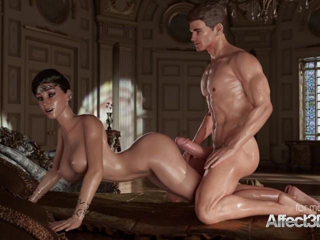 Sexy asian nude bodybuilder legs