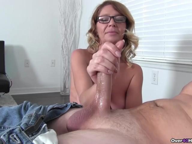 Milf Handjob Porno