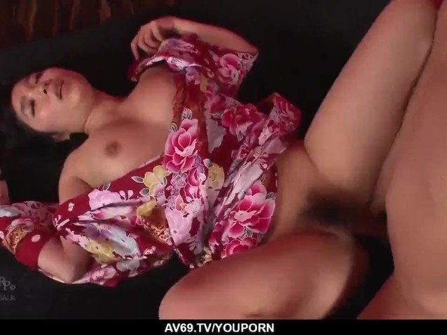 Chiharu Wants Cock in Each of Her Tight Holes - More at 69avs.Com