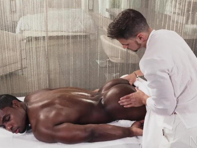 Noirmale Full Scene Sexy Fucking Massage 4 Hunk Black Daddy - Free Porn -3815