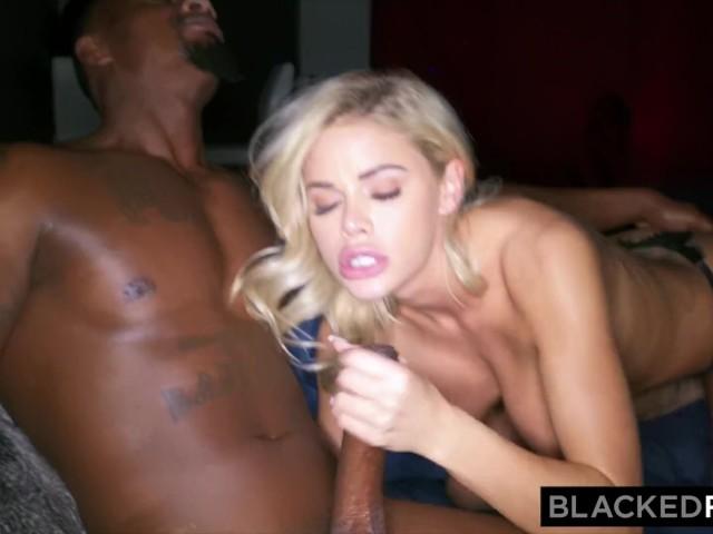 Mature Blonde Wife Black