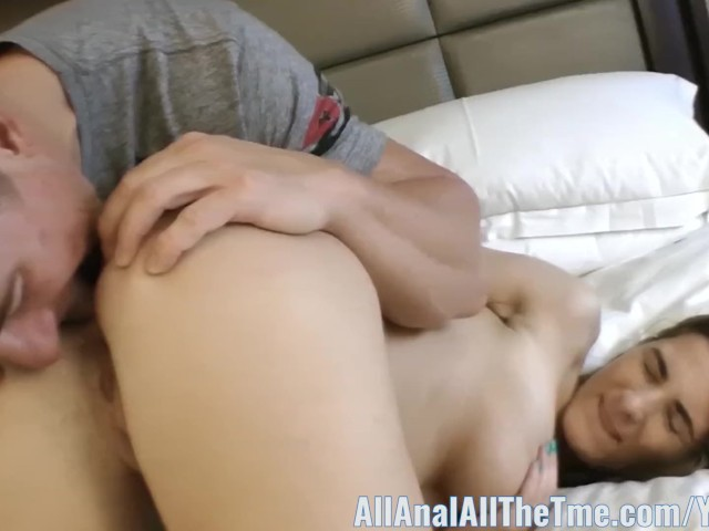 Busty Babe Molly Jane Spreads Ass for Allanal!
