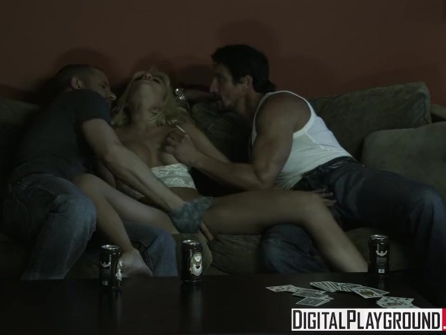 Digital Playground - Hot Blonde Teen, Riley Steele Gets Passed Around by Scott Nails & Tommy Gunn